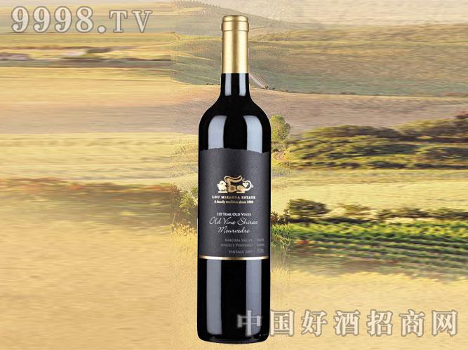 2009年鲁美兰达老树西拉子穆尔维德干红葡萄酒