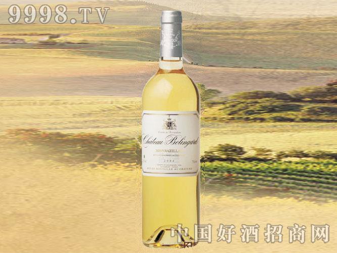 2009年贝灵阁古堡半甜白葡萄酒