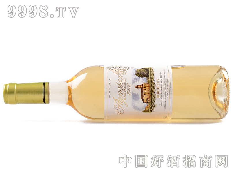 艾颂天使之翼甜白葡萄酒横