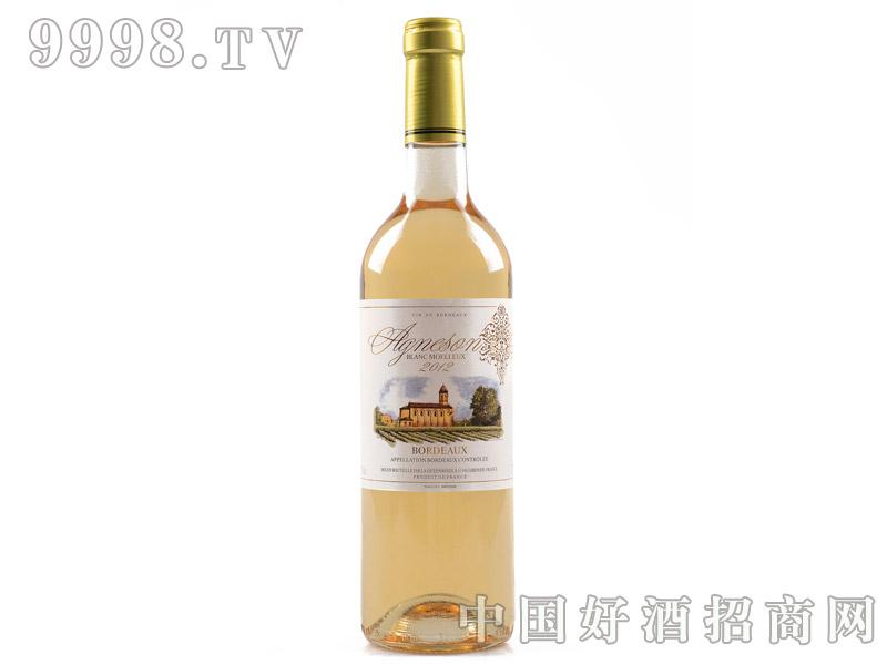 艾颂天使之翼甜白葡萄酒正