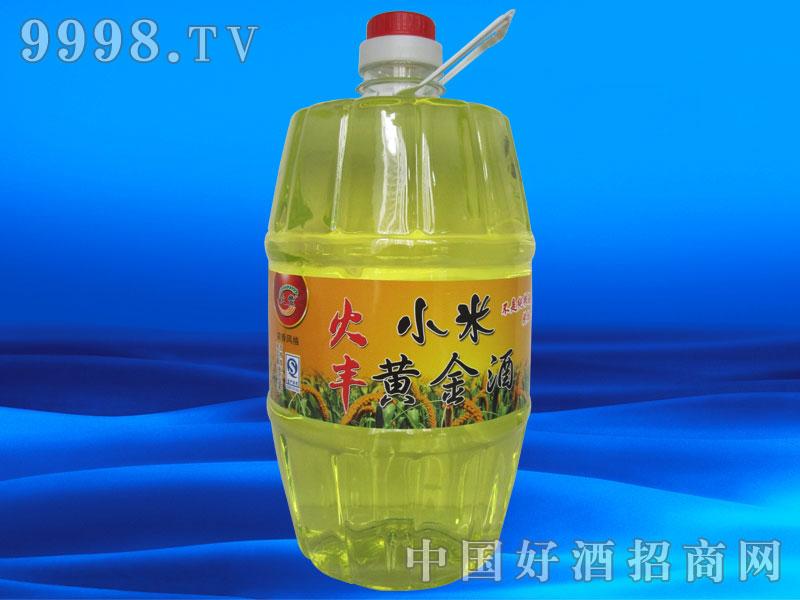 8斤小米黄金酒