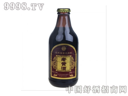 老黄酒11度小瓶金皮革