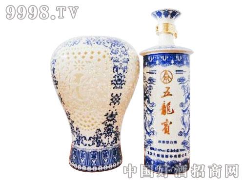 五龙宾(青花瓷)