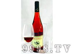 EHD马卡特拉半甜有机粉红葡萄酒