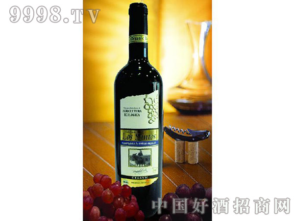 EHD桑尼瑞奥洛斯桑特有机干红葡萄酒