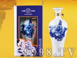 国花青瓷-汾酒・陈藏・一坛香