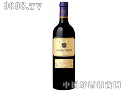 艾卡帝美乐干红葡萄酒