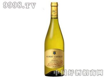 夏布利金标干白葡萄酒