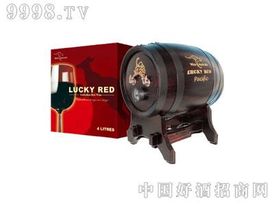 乐其红盒装澳洲红葡萄酒