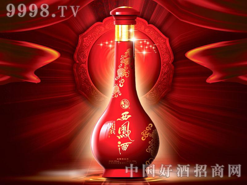 西凤酒52度贵宾10