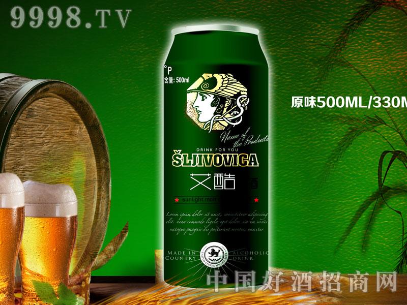 500ml艾酷普通熟啤