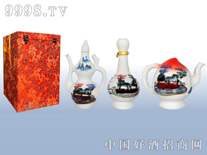 珍珠釉(葫芦、梅瓶、桃瓶)