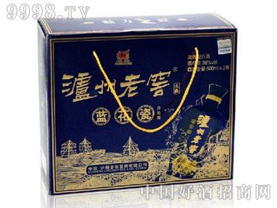 泸州老窖头曲蓝花瓷升级版38度双瓶礼盒