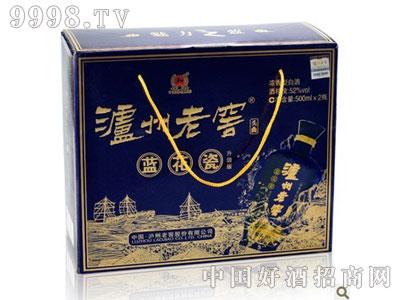 泸州老窖头曲蓝花瓷升级版52度双瓶礼盒