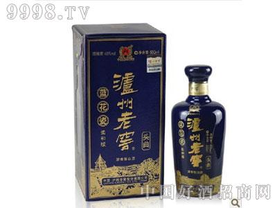 泸州老窖头曲蓝花瓷柔和版38度