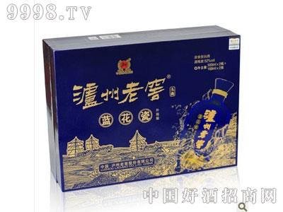 泸州老窖头曲蓝花瓷升级版52度礼盒