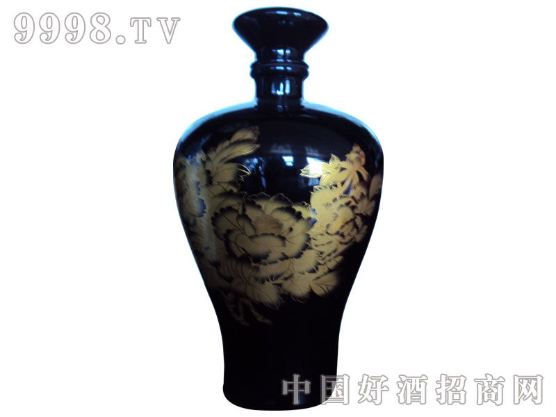 五斤印花瓶