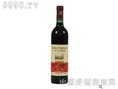 长城干红葡萄酒北纬40°V3解百纳