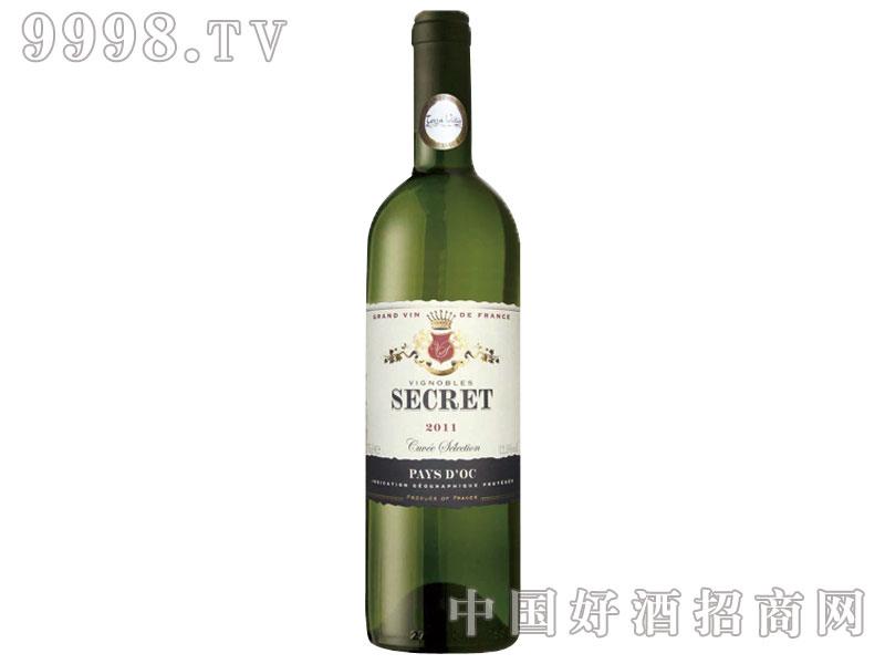 精选窖藏干白葡萄酒