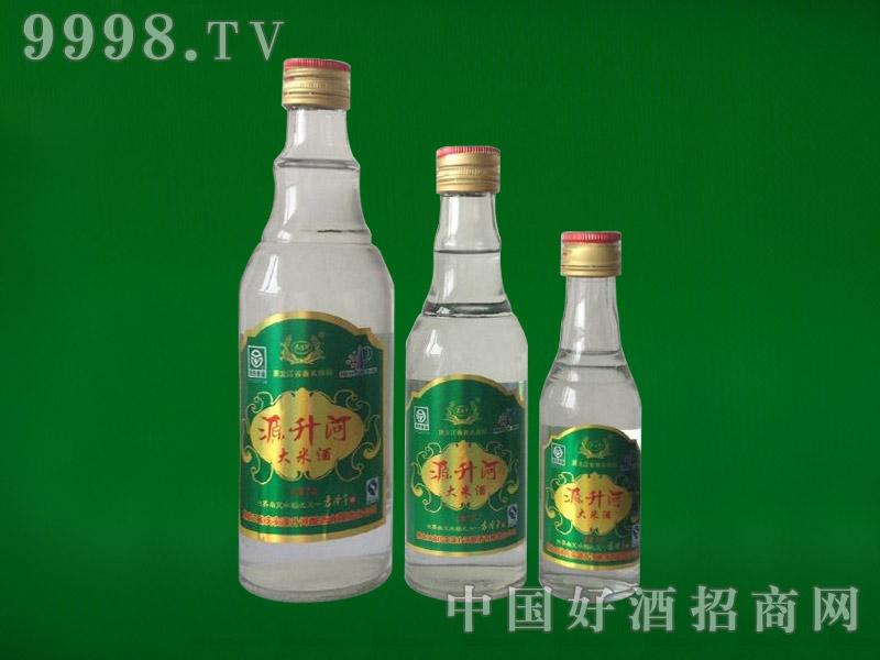 源升河大米酒450ml、250ml、100ml(玻璃瓶)