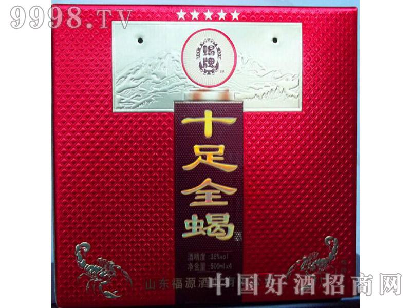 十足全蝎酒(红盒)