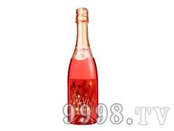 激情飞扬玫瑰红低醇起泡葡萄酒750ml