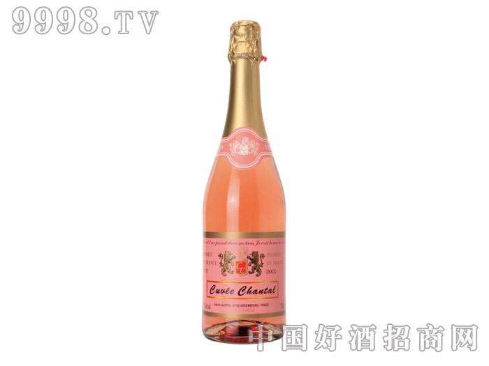 霜桐之恋桃红甜起泡酒