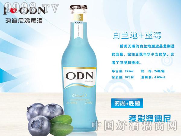 澳迪尼鸡尾酒白兰地+蓝莓