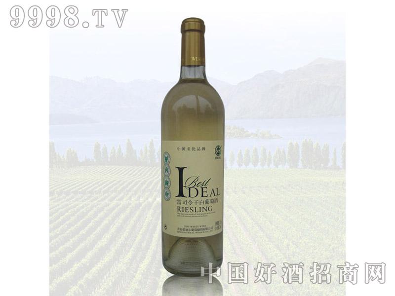 爱迪尔雷司令干白葡萄酒750ml