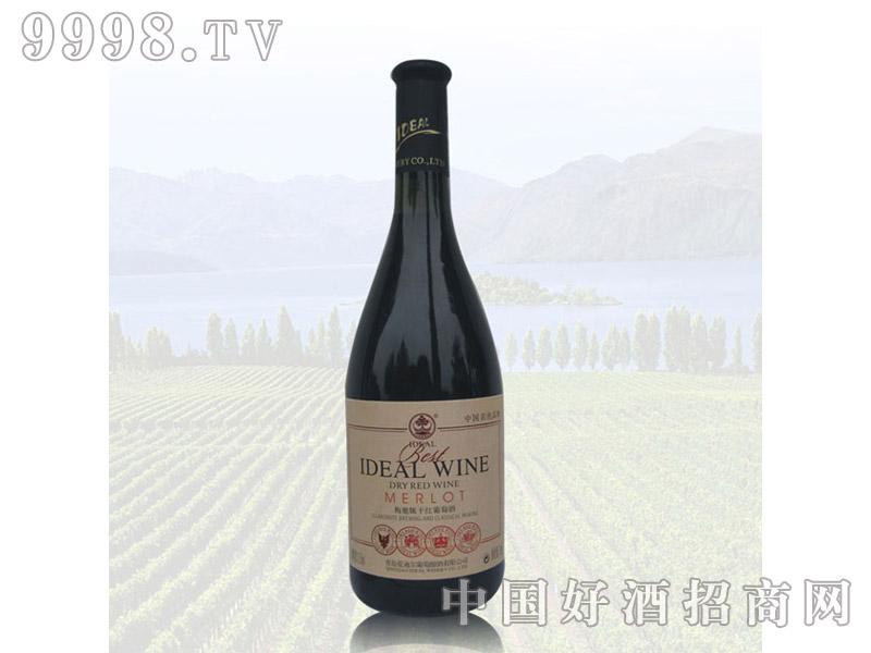 爱迪尔梅鹿辄干红葡萄酒