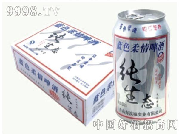蓝色柔情纯生态330ML