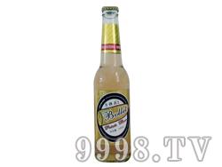子弹头啤酒330ml(黄瓶)