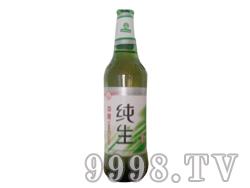 纯生瓶装啤酒(绿)