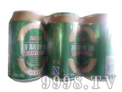 酒立方特制啤酒塑包装