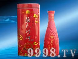 蓝色珍河中国红