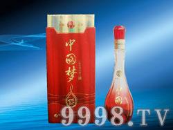 洋河珍酒-中国梦(浓香型)-红瓶
