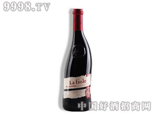 法国隆河芙华歪脖子干红葡萄酒红酒-送礼