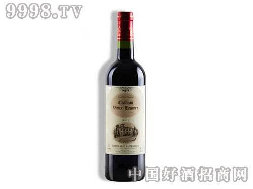 法国超级波尔多红酒勒烈城堡AOC干红葡萄酒送开瓶器