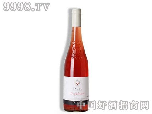 法国教皇新堡波特塔维尔列级产区玫瑰红葡萄酒-红酒