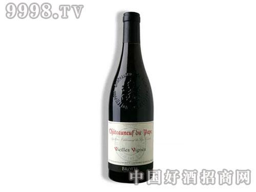 法国波特家族老藤系列之教皇新堡干红葡萄酒