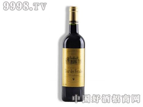 法国波尔多AOC-朗瑟夫斐哈德城堡干红葡萄酒红酒