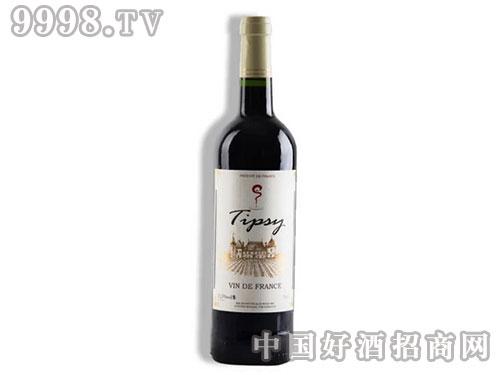 法国精品TIPSY干红葡萄酒红酒