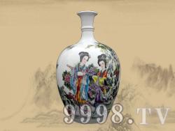 景德镇瓷坛(美人瓶)