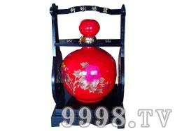 坛子酒-红牡丹