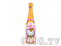 凯蒂猫苹果水蜜桃无醇起泡
