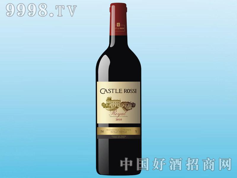 卡斯特罗茜干红葡萄酒CASTLE ROSSI 2010