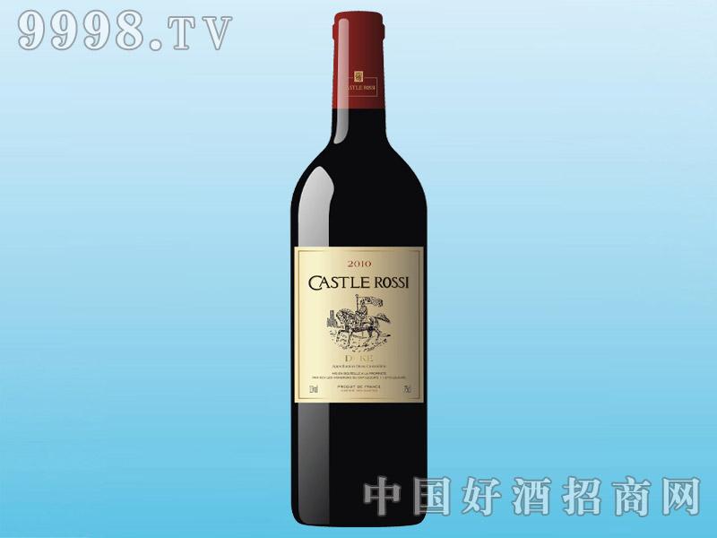 卡斯特罗茜干红葡萄酒CASTLE ROSSI 2010(75cl)