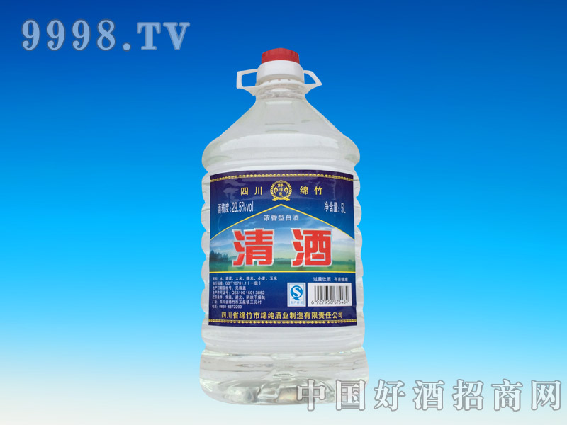 清酒29.5°5L