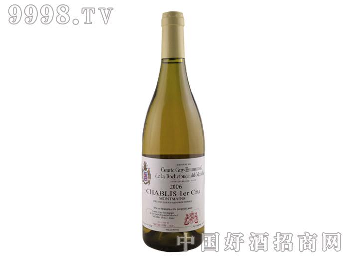 罗仕富侯爵夏布利米利欧山一级酒庄干白葡萄酒