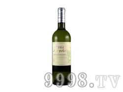 安尼轩哥伦巴霞多丽干白葡萄酒